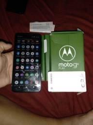 Título do anúncio: Moto G8 play troco