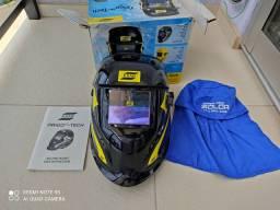 Máscara de Solda Escurecimento Automático Origo Tech 9/13 Preta ESAB