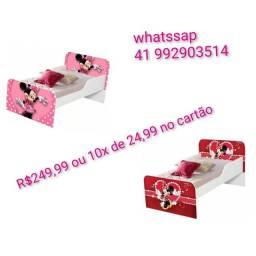 Título do anúncio: Mini cama infantil nova # parcelamento 10x sem juros no cartão