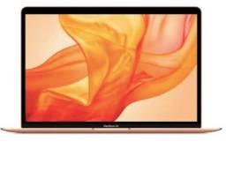 MacBook Air 13 intel i3 1.1GHz ssd 512gb 8g ram Dourado