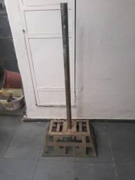 Título do anúncio: Lixeira de rua retangular de aço galvanizado