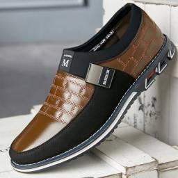 Título do anúncio: Sapato Masculino Casual Couro