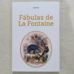 Livro Fábulas de La Fontaine (NOVO)