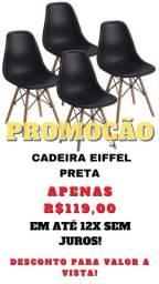 Título do anúncio: CADEIRA EIFFEL PRETA