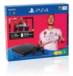 Título do anúncio: Ps4 1tb Bundle Fifa 2020 Com Controle Dualshock 4 Preto