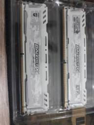 Memória RAM 2X4 2400mhz DDR4 (usada)