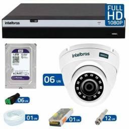 X c câmera de segurança CFTV Intelbras