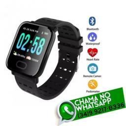 Título do anúncio: Relógio SmartBracelet Batimentos Calorias Bluetooth WhatsApp