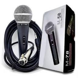 Título do anúncio: Microfone com fio sm-58