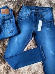 Título do anúncio: Calças jeans com elastano atacado