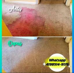 Lavagem a Seco de Carpetes