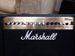 Título do anúncio: Amplificador Marshall MG 50DFX