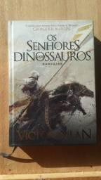 Livro senhores dos dinossauros