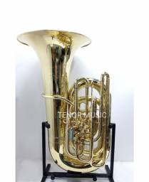 Tuba HS MUSICAL TB1C 5/4 4 Pistos + 1 Rotor NOVA