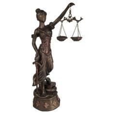 Themis Deusa da Justiça 45,5 cm