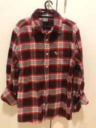 Blusa de Flanela - Abercrombie & Fitch - Tamanho L