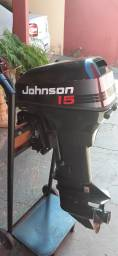 Título do anúncio: Vendo motor de popa 15HP Johnson