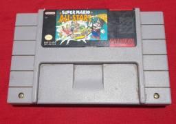 Cartucho de super Nintendo  super Mário  all-stars