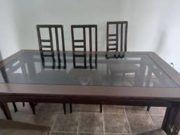 Título do anúncio: Mesa 8 lugares+ 6 cadeiras