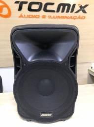 Caixa De Som Ativa Lexsen Ls15bt Bluetooth 100w Rms nova com nota fiscal e garantia 2 anos