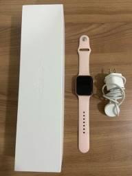 Título do anúncio: Apple Watch Série 5 44MM Rose Gold com pulseira esportiva Rose