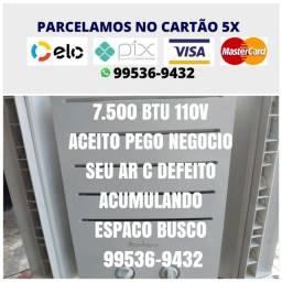 Parcelo No Cartão 5x Ac Pix Entrego Ar Condicionado M644