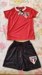 Kit São Paulo Infantil Vermelho (4 anos)