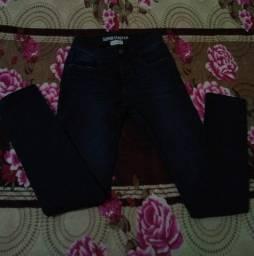 Calça Jeans azul escuro tamanho 14, Aceito ofertas, em Serra ES.