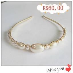 Tiara de luxo / Diadema : lindas jóias para sua cabeça