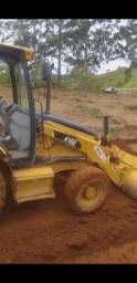 Vendo ou troco por escavadeira Retroescavadeira cat 416 e 4x4