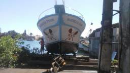 Vendo Barco de 10mts c/poita no 2° pier.