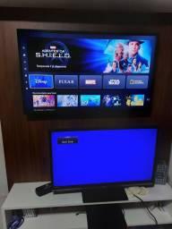 Título do anúncio: Troco duas tv por 1 smart