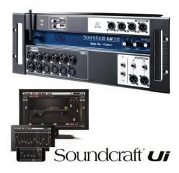 Soundcraft ui16 nova com nota Fiscal
