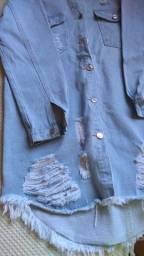 Vestido jeans destroyed