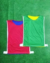 Colete de treino, futebol, futsal, handball ATACADO e VAREJO