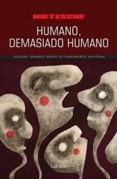 Livro Humano Demasiado Humano - Nietzsche (NOVO)