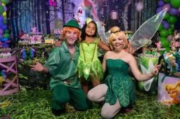 Título do anúncio: Personagens Vivos Infantis Peter Pan Ariel Cinderela Moana Bela e a Fera
