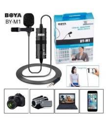Título do anúncio: Microfone de Lapela Para Câmeras e Smartphones Boya BY-M1?