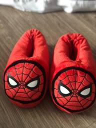 Pantufa Homem Aranha