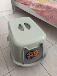 Banheiro para gatos com filtro anti-odor