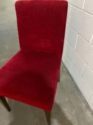 Título do anúncio: 6 Cadeiras de Veludo