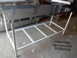 Mesas para frigorífico e padaria