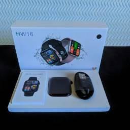 Smartwatch Iwo HW16 Modelo Atualizado 2021 [Lacrado c/ Garantia!]