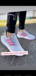 Título do anúncio: Adidas rosa cinza lançamento