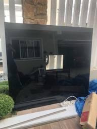 Rack em vidro para Tv
