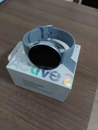 Título do anúncio: Smartwatch Samsung Galaxy active 2 44mm completo com nota