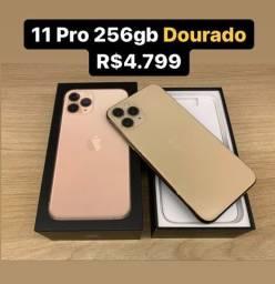 Título do anúncio: iPhone 11 Pro 256gb Dourado // Loja Física Savassi
