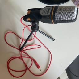 Vende-se microfone ? condensador simples