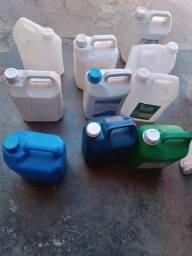 Galao de plastico 5 litros