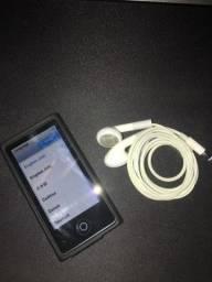 Ipod nano impecável, com capa e fone original novo.